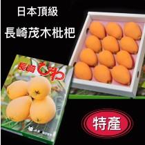 【立三】日本長崎茂木枇杷禮盒(9-12顆/盒)