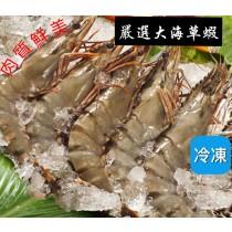 【立三】嚴選大尾海草蝦(10/15)2kg/盒