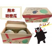 【立三】日本熊本夕張哈密瓜(2入)
