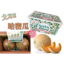 【立三】日本靜岡哈蜜瓜(2入)