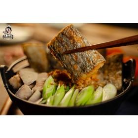 【立三】白帶魚蒜苗鍋(胖師傅)